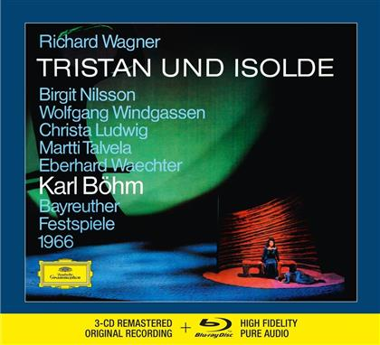 Birgit Nilsson, Wolfgang Windgassen, Christa Ludwig, Martti Talvela, Eberhard Waechter, … - Tristan Und Isolde - 3 CD Remastered + Blu-ray Audio (3 CDs)