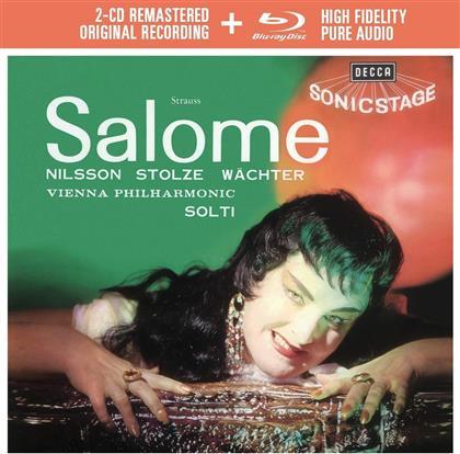 Birgit Nilsson, Eberhard Wächter, Grace Hoffman, Richard Strauss (1864-1949), Sir Georg Solti, … - Salome - 2CD Remastered + Blu-ray Audio (2 CDs + Blu-ray)