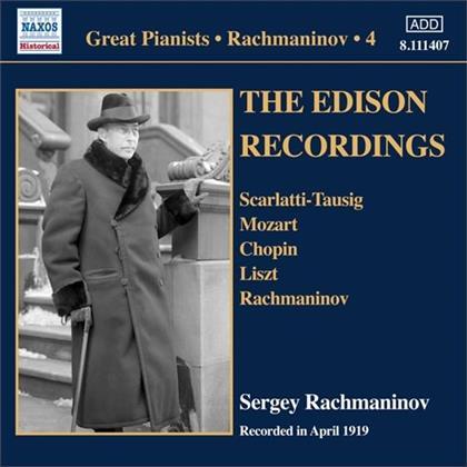 Sergej Rachmaninoff (1873-1943) - The Edison Recordings - Recorded April 1919