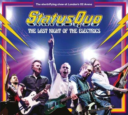 Status Quo - Last Night Of The Electrics (3 LPs)