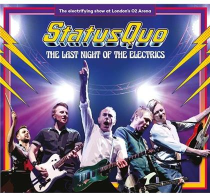 Status Quo - Last Night Of The Electrics - Limited Earbook (2 CDs + DVD + Blu-ray)