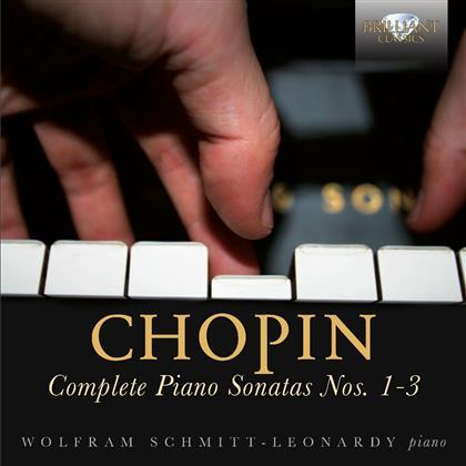 Frédéric Chopin (1810-1849) & Wolfram Schmitt-Leonardy - Sonatas 1-3