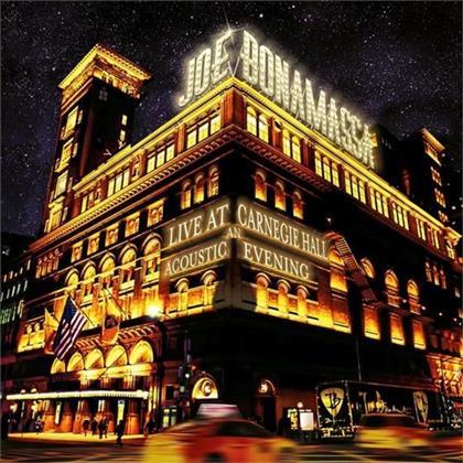 Joe Bonamassa - Live At Carnegie Hall - An Acoustic Evening (2 CDs)