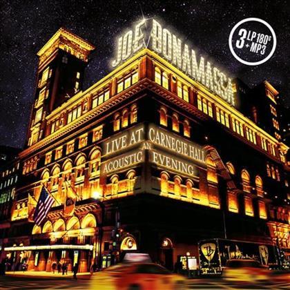 Joe Bonamassa - Live At Carnegie Hall - An Acoustic Evening (3 LPs + Digital Copy)