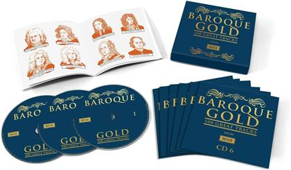 Divers - Baroque Gold - 100 Great Tracks (6 CDs)