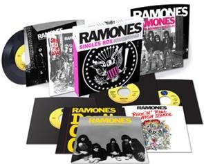 "Ramones - Singles Box - RSD 2017, 7 Inch (10 7"" Singles)"
