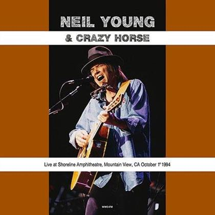 Neil Young & Crazy Horse - Live At Shoreline Amphitheatre Mountain View CA October 1st 1994 - DOL (LP)