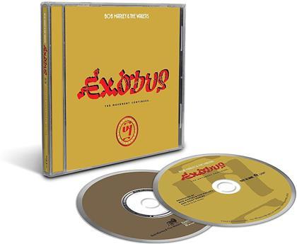 Bob Marley & The Wailers - Exodus 40 - Limited Edition, 2017 Reissue (3 CDs)