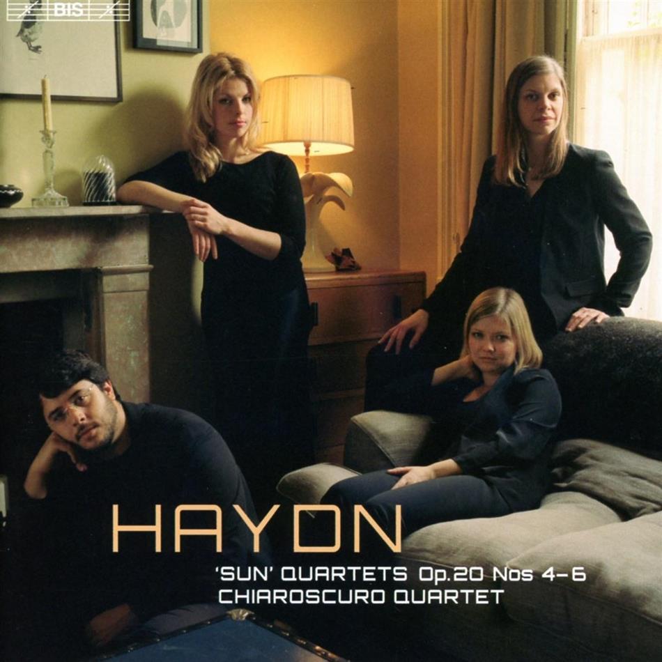 Charoscuro Quartet & Joseph Haydn (1732-1809) - Sun Quartets Op. 20 Nos 4-6 - DSD 5.0 Surround sound (Hybrid SACD)