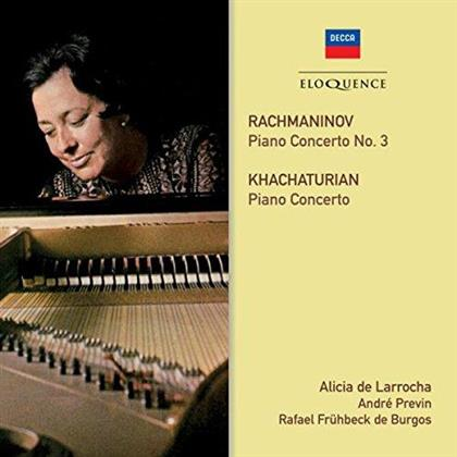 Sergej Rachmaninoff (1873-1943) & Aram Khatchaturian (1903-1978) - Piano Concertos
