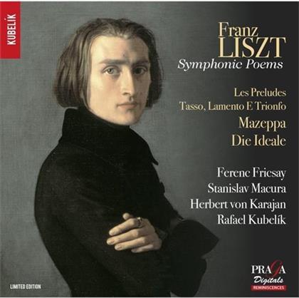 Ferenc Fricsay, Herbert von Karajan, Radio-Symphonie-Orchester Berlin & Franz Liszt (1811-1886) - Symphonic Poems Vol. 1 (Hybrid SACD)