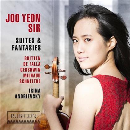 Joo Yeon Sir, Irina Andrievski, Benjamin Britten (1913-1976), Manuel de Falla (1876-1946), Igor Alexandrovich Frolov, … - Suites & Fantasies