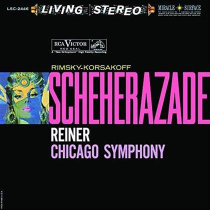 Nikolai Rimsky-Korssakoff (1844-1908), Fritz Reiner & Chicago Symphony Orchestra - Scheherazade (45 RPM, Acoustic Sounds Ausgabe, Limited Edition, 2 LPs)