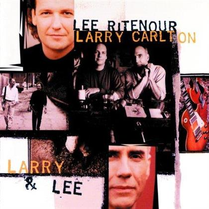 Lee Ritenour & Larry Carlton - Larry & Lee (2 LPs)
