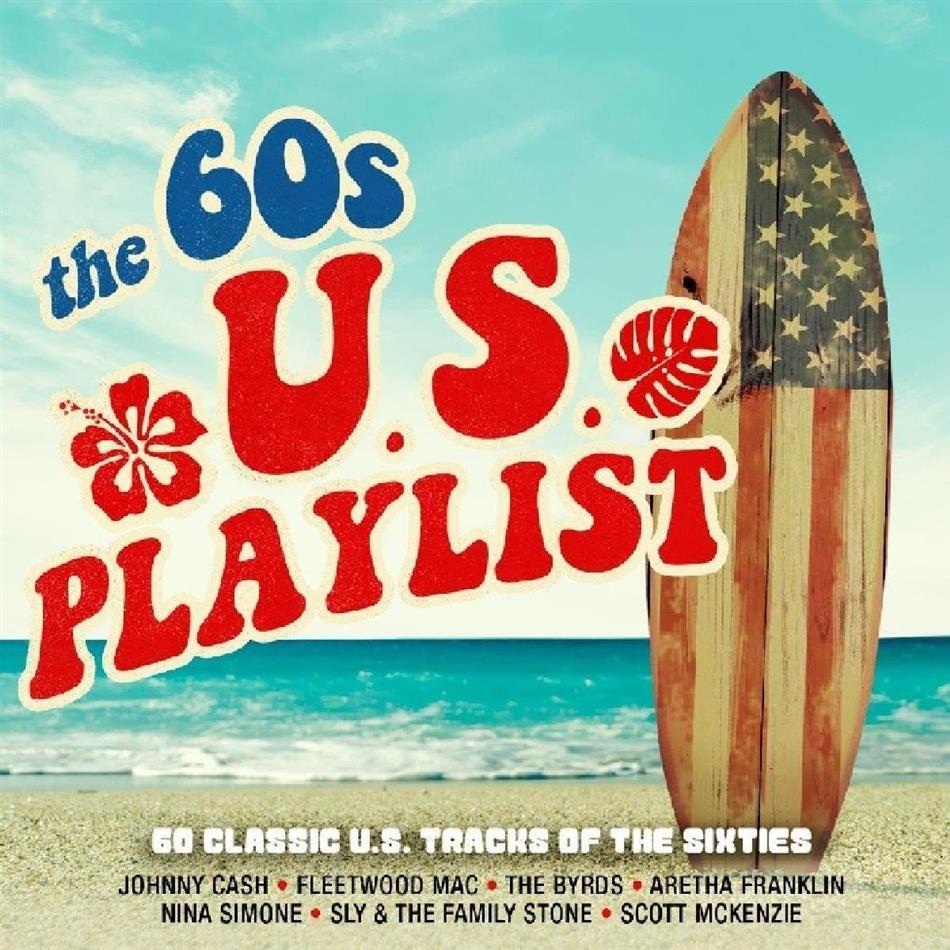 60's Us Playlist (3 CDs)