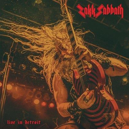 Zakk Sabbath (Zakk Wylde) - Live In Detroit (LP)