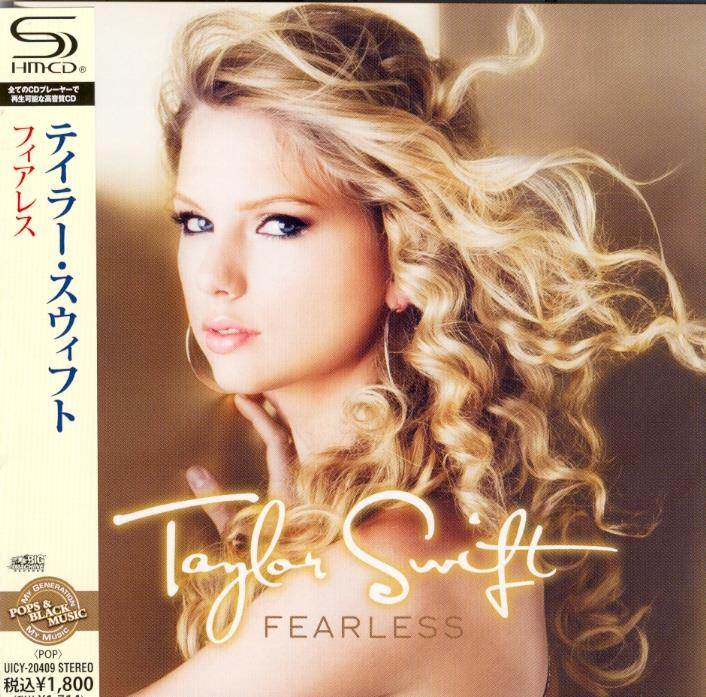 Taylor Swift - Fearless - Limited Edition, 2017 Reissue + Bonustrack (Japan Edition)