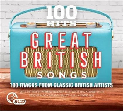 100 Hits - Great British Songs (5 CDs)