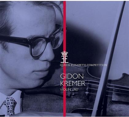 Gidon Kremer, Robert Schumann (1810-1856), Sir Edward Elgar (1857-1934) & Ernest Chausson (1855-1899) - Queen Elisabeth Competition - Violin 1967
