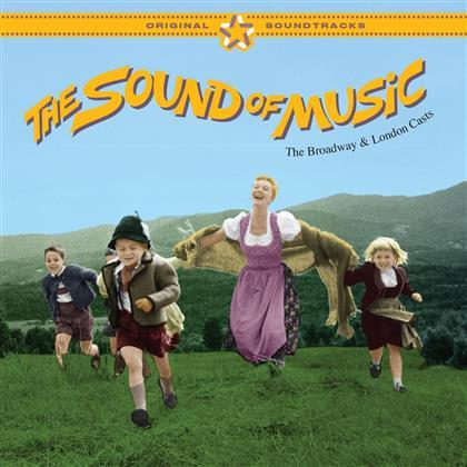 Sound Of Music - OST - Broadway & London Casts inkl. 14 Bonus Tracks (2 CDs)