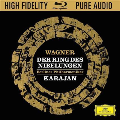 Herbert von Karajan & Richard Wagner (1813-1883) - Der Ring Des Nibelungen - Blu Ray Only!
