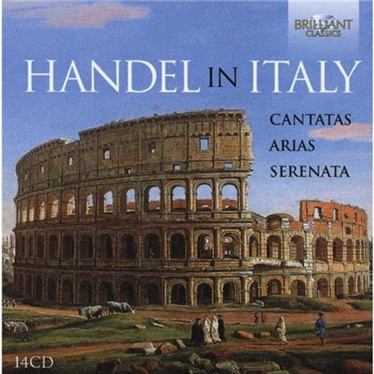 Georg Friedrich Händel (1685-1759) - Handel In Italy: Canatas, Arias & Serenata (14 CDs)