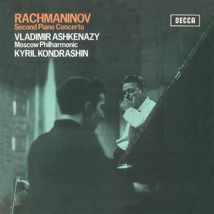 Sergej Rachmaninoff (1873-1943), Kondrashin Kiril, Vladimir Ashkenazy & Moscow Philharmonic - Klavierkonzert 2 - Second Piano Concerto (LP)