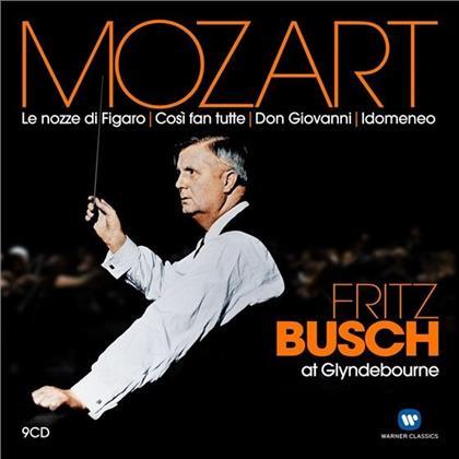 Fritz Busch, Ina Souez & Wolfgang Amadeus Mozart (1756-1791) - Fritz Busch At Glyndebour (9 CDs)