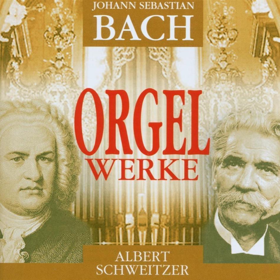Johann Sebastian Bach (1685-1750) & Albert Schweitzer - Orgelwerke - Documents (2 CDs)