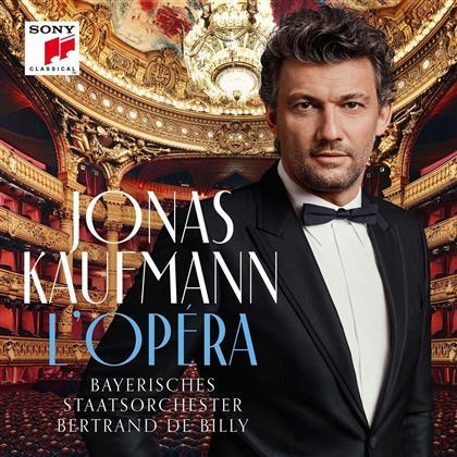 Jonas Kaufmann, Bertrand de Billy & Bayerisches Staatsorchester - L'Opera - French Album (2 LPs)