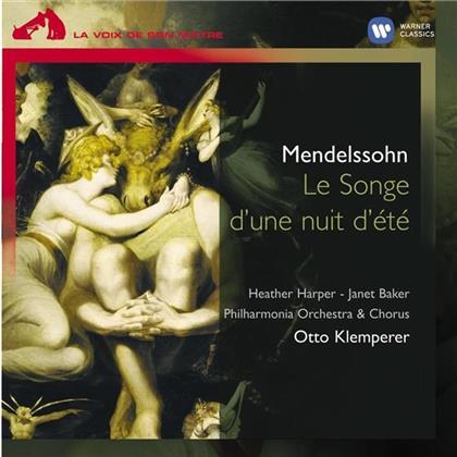Janet Baker, Felix Mendelssohn-Bartholdy (1809-1847) & Otto Klemperer - Ein Sommernachtstraum (LP)