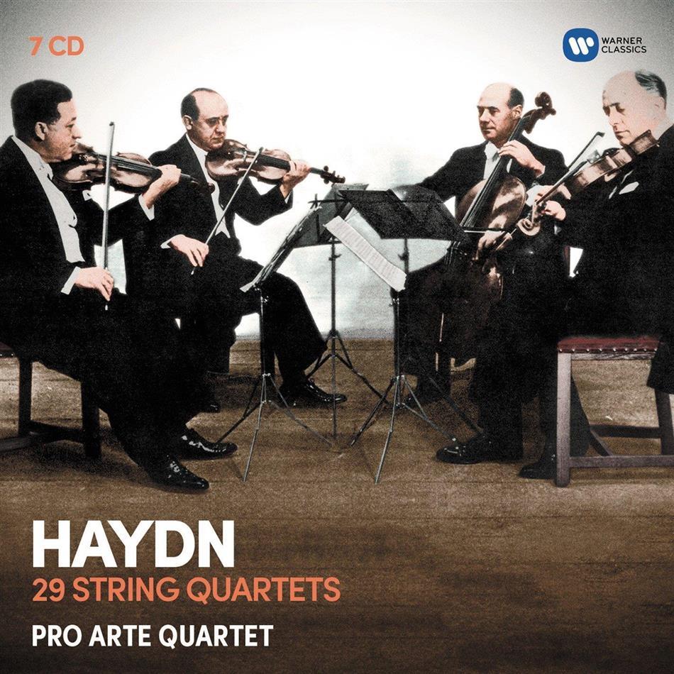 Pro Arte Quartet & Joseph Haydn (1732-1809) - 29 Streichpuartette (Newly Remastered) (Remastered, 7 CDs)