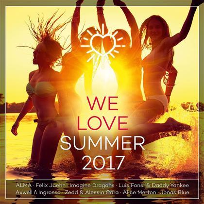 We Love Summer - 2017 (2 CDs)