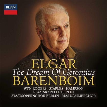 Daniel Barenboim, Catherine Wyn-Rodgers, Thomas Hampson, Sir Edward Elgar (1857-1934), Staatkapelle Dresden, … - The Dream Of Gerontius (2 CDs)