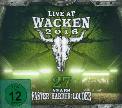Live At Wacken 2016 - 27 Years Faster: Harder: Louder (2 CDs + 2 DVDs)