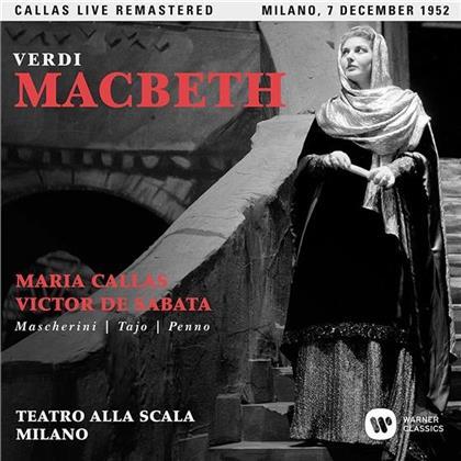 Maria Callas, Giuseppe Verdi (1813-1901) & Victor de Sabata - Macbeth - Milano, 07.12.1952 (2 CDs)