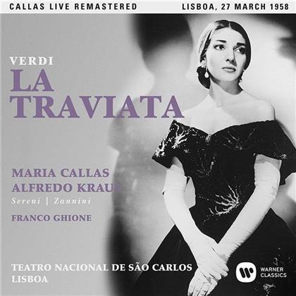 Maria Callas & Giuseppe Verdi (1813-1901) - La Traviata - Lisboa, 27.03.195 (2 CDs)