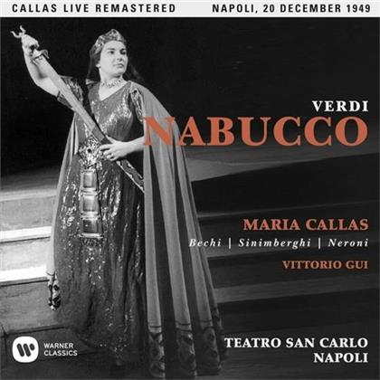 Maria Callas & Giuseppe Verdi (1813-1901) - Nabucco - Napoli Live 20.12.1949 (2 CDs)