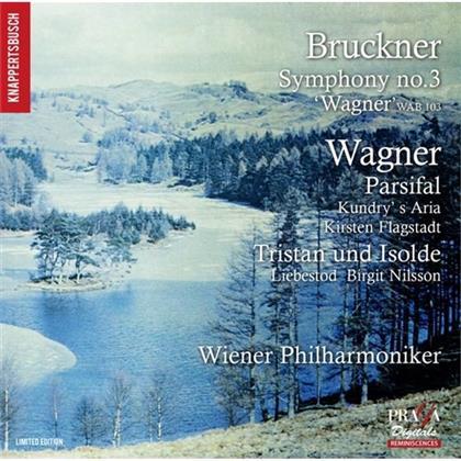 Anton Bruckner (1824-1896), Richard Wagner (1813-1883), Hans Knappertsbusch & Wiener Philharmoniker - Symphony No.3 / Parsifal (SACD)
