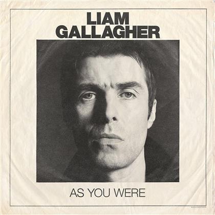 Liam Gallagher (Oasis/Beady Eye) - As You Were - 12 Tracks (LP + Digital Copy)