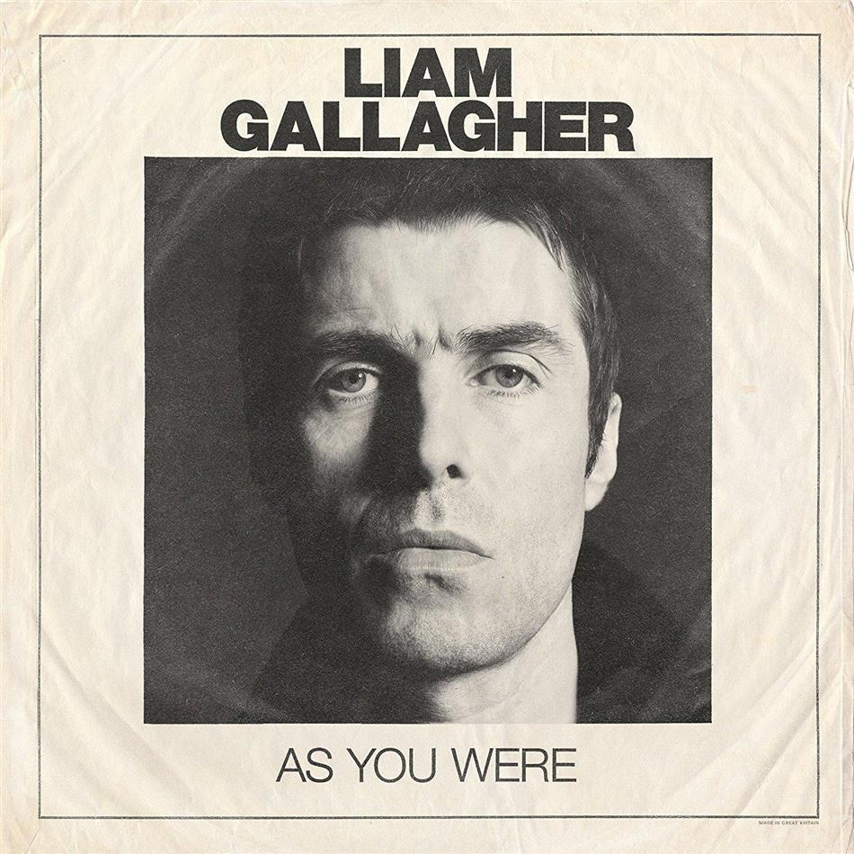 Liam Gallagher (Oasis/Beady Eye) - As You Were - 12 Tracks (LP + Digital Copy)