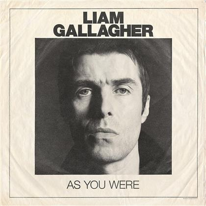 Liam Gallagher (Oasis/Beady Eye) - As You Were-Coloured - Limited (White Vinyl, LP)