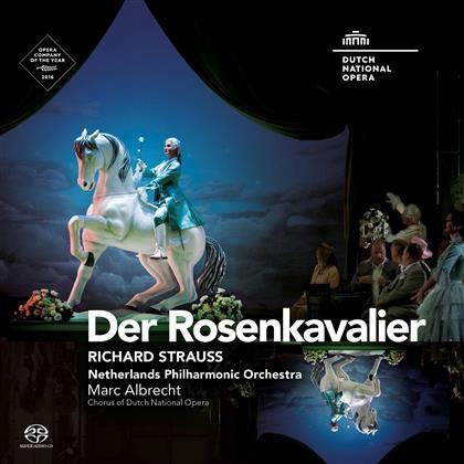 Hanna-Elisabeth Müller, Martin Gantner, Richard Strauss (1864-1949), Marc Albrecht & Netherlands Philharmonic Orchestra - Der Rosenkavalier (3 SACDs)