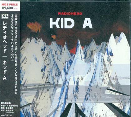 Radiohead - Kid A (Japan Edition)
