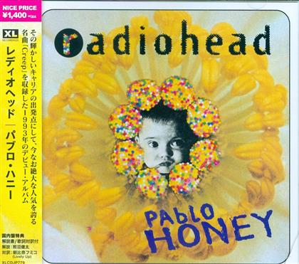 Radiohead - Pablo Honey - 2017 Reissue (Japan Edition)