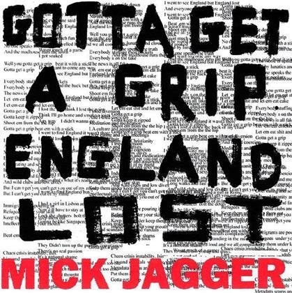 "Mick Jagger - Gotta Get A Grip / England Lost (12"" Maxi)"