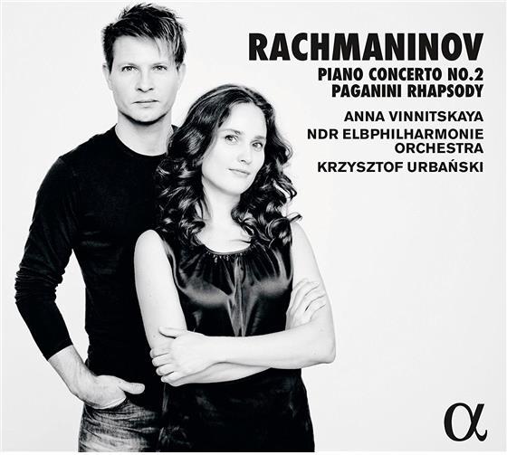 Anna Vinnitskaya, Sergej Rachmaninoff (1873-1943), Krzysztof Urbanski & NDR Elbphilharmonie Orchester - Klavierkonzert Nr.2/Paganini Rhapsody