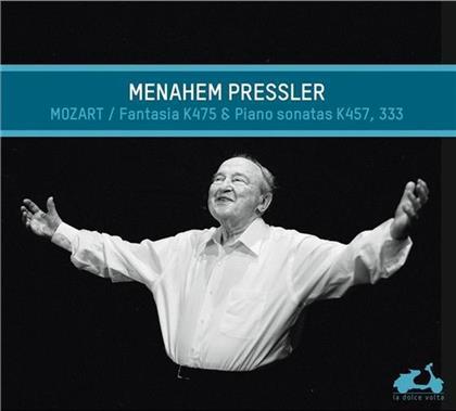 Menahem Pressler & Wolfgang Amadeus Mozart (1756-1791) - Fantaisie K475/Sonates K4