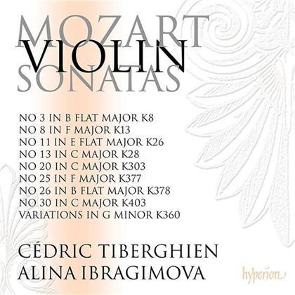 Cedric Tiberghien, Alina Ibragimova & Wolfgang Amadeus Mozart (1756-1791) - Violin Sonatas Vol.4 (2 CDs)