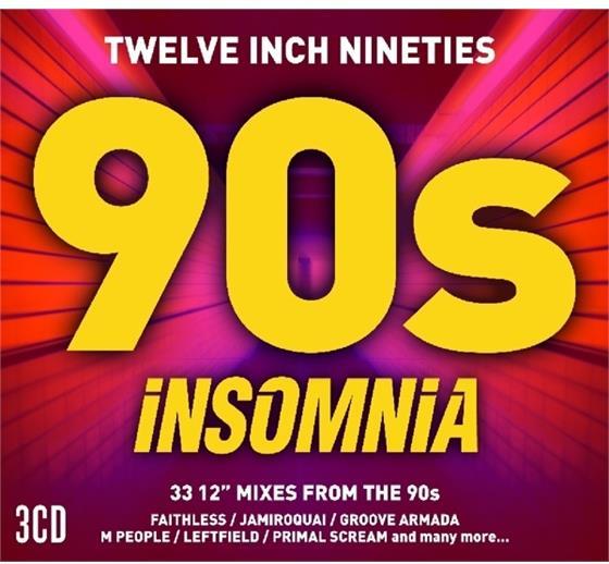 Insomnia - Various - Twelve Inch 90's (3 CDs)